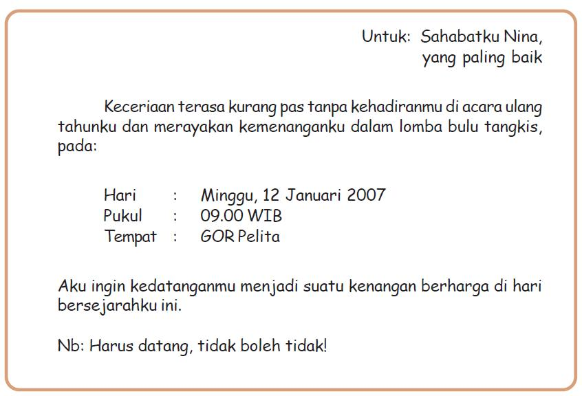 Koleksi Contoh Invitation Letter Surat Undangan Share The Knownledge