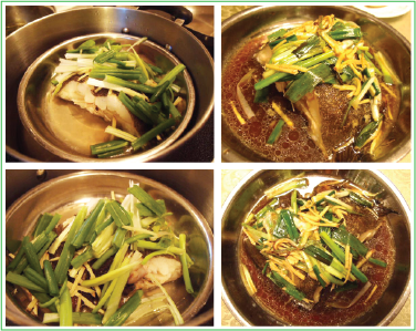 Jenbeansblog: Ginger and green onion steamed fish