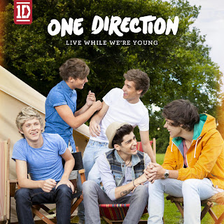 Live While We're Young Artwork - One Direction