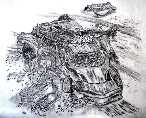 Micky es estudiante de la UNAM y un gran talento en el dibujo a lápiz.