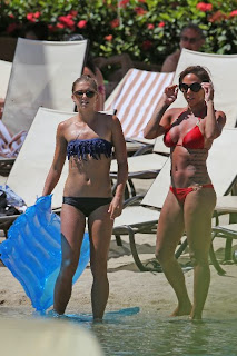 Alex Morgan and Sydney Leroux Bikini Hawaii