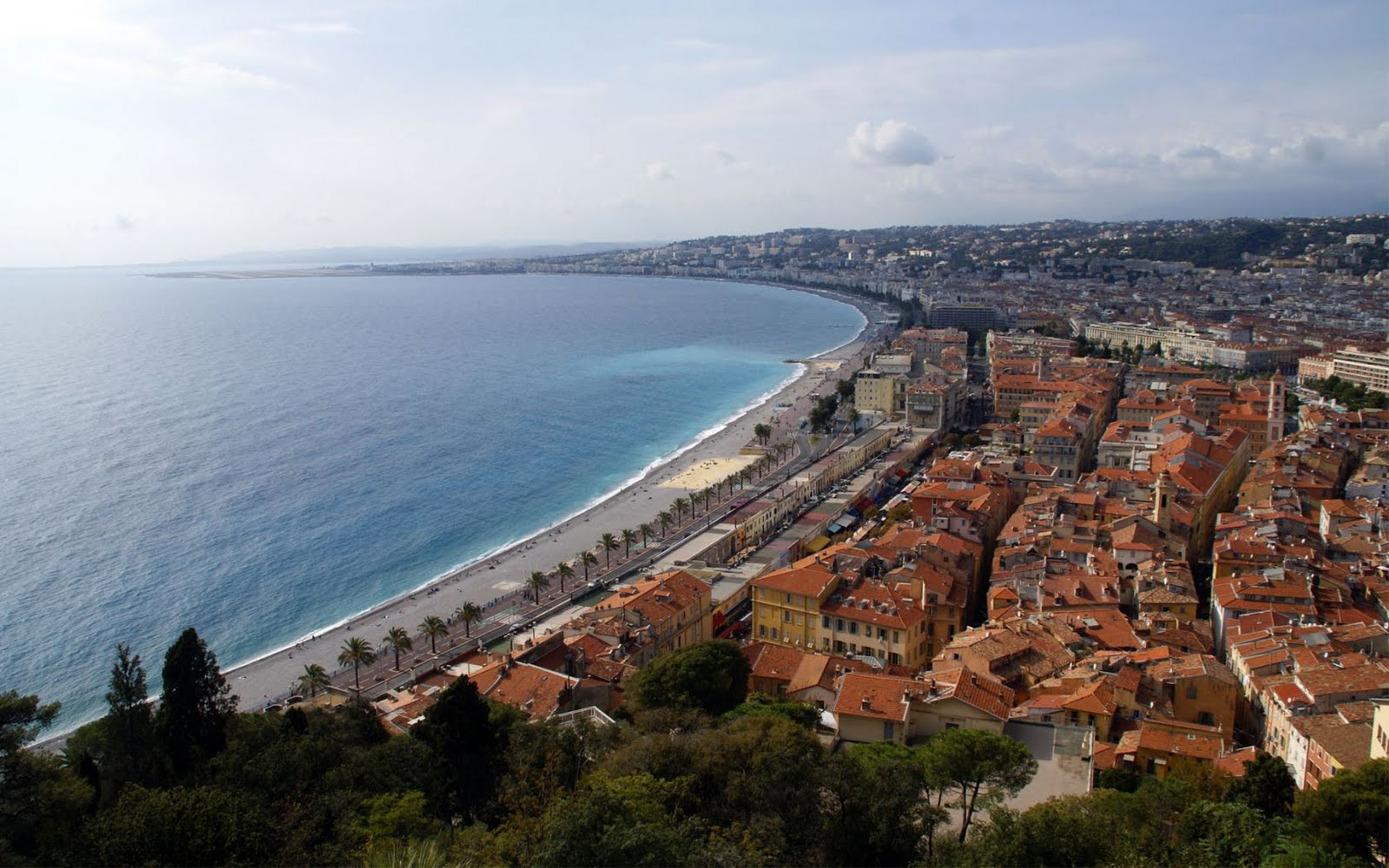 Nice - Cote d'Azur,South of France | Hd Desktop Wallpaper