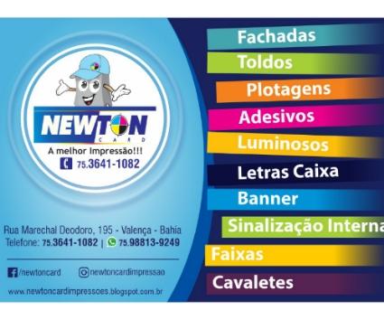 Newton Card