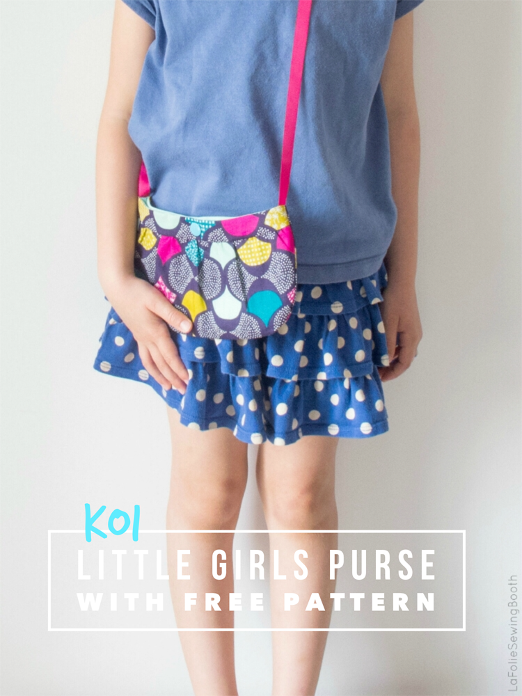 Sewing pattern for girls Little purse