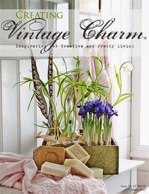 Featured in Creating Vintage Charm Magazine March 2015