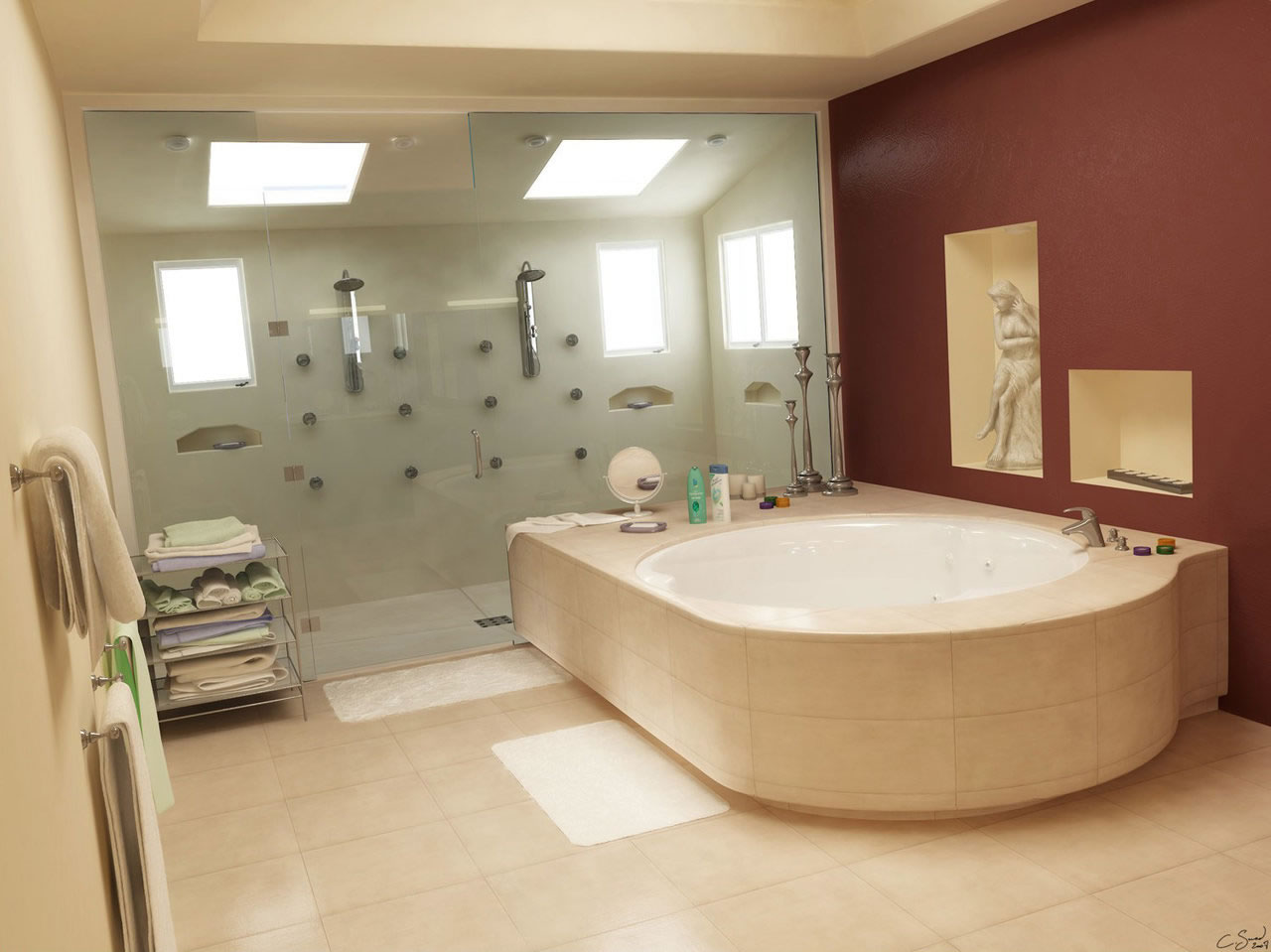 Luxury Bathroom | Dream House Experience