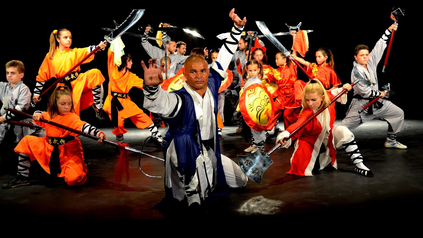 Shaolin Academy School Team Master Senna Spain.