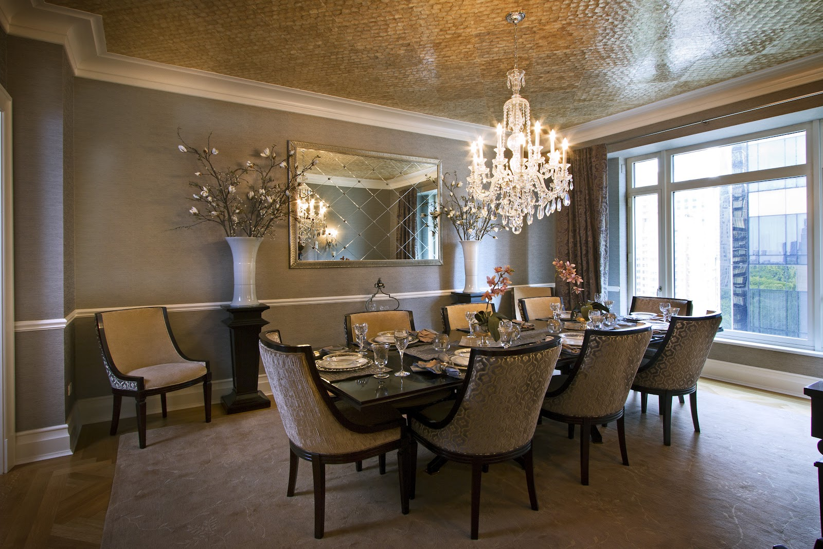 A rejeanne interiors june 2012 for Beautiful dining room photos