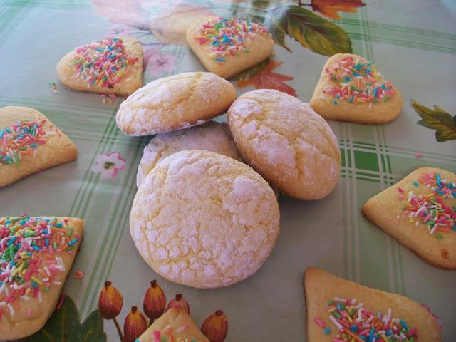 biscotti di semola (o ghoriba) e frollini