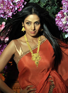 Photo Shoots: Sridevi for Tanisq jewellery
