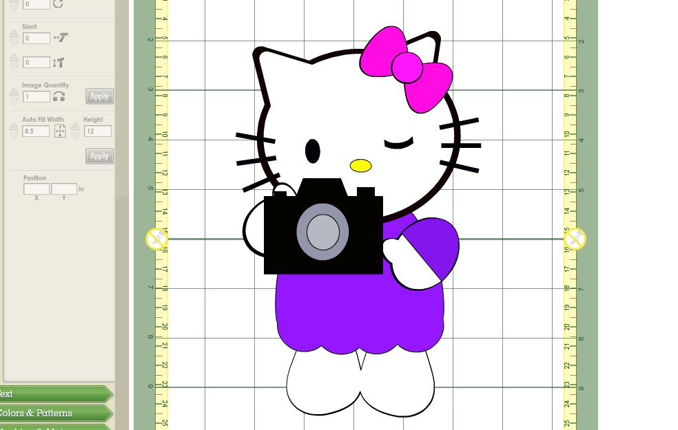 Hello Kitty with Camera