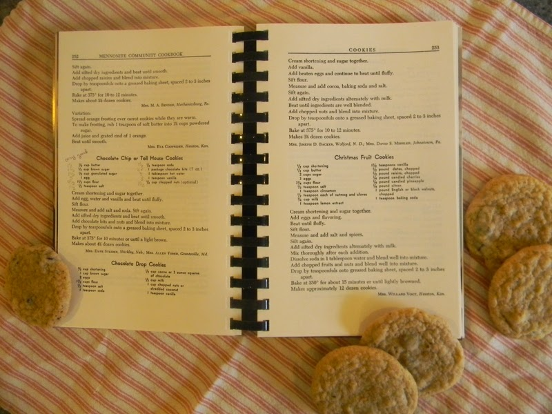 Mennonite Community Cookbook >> Home Joys: Giveaway - Mennonite Community Cookbook