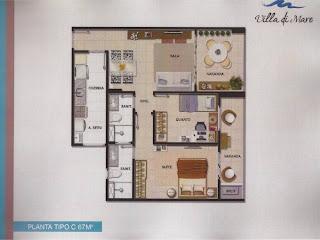Villa Di Mare - Tipo 67m²