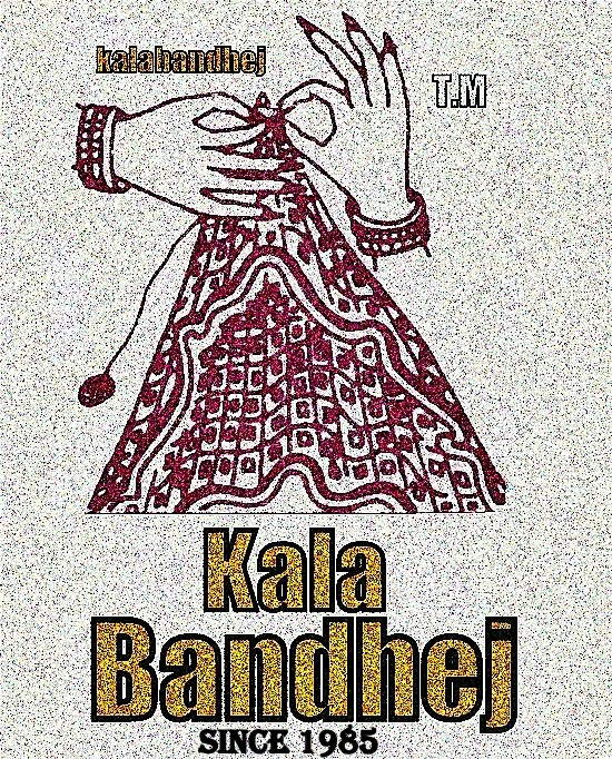 Kala Bandhej Dress'es