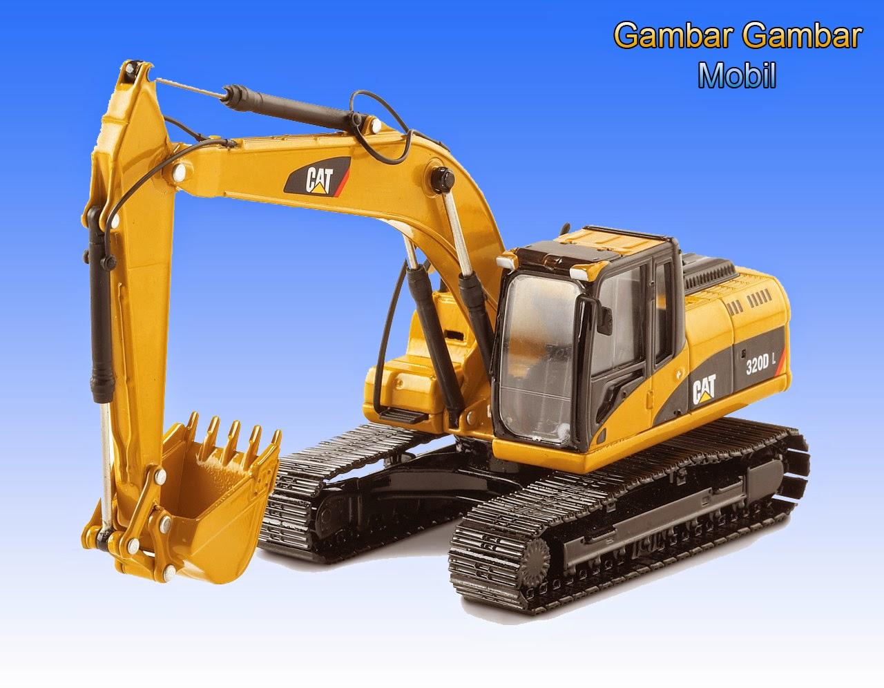 gambar excavator cat