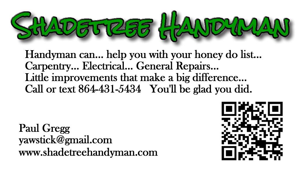 🌳 Handyman Can 🛠️💡⚡📐🛁