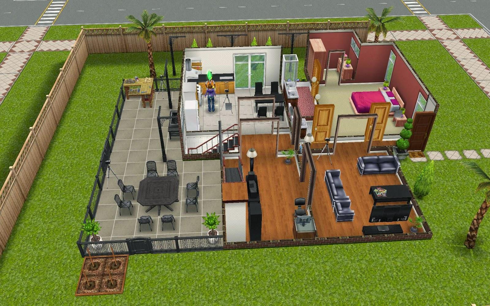 Patio ideas sims freeplay sims freeplay housing for Sofabett 140x200