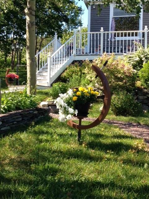 Mahoneys' garden, King's Cove, Newfoundland, Margaret Ryall