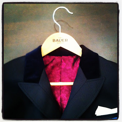 Bauer tailors riding coat