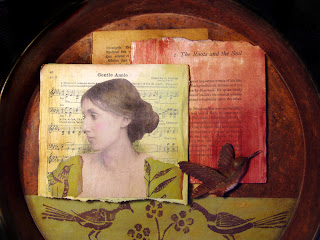 altered art, vintage imagery