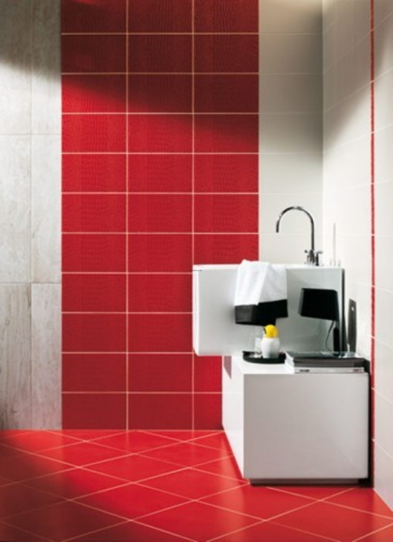 Red Floor Tiles Kitchen Bathroom Tile Ideas For A More Stylish Design
