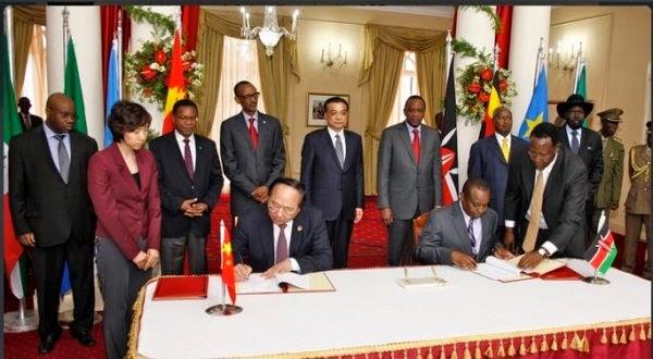 U Bushinwa bwasinyanye na EAC kubaka umuhanda wa gari ya moshi Mombasa-Nairobi-Kampala-Kigali - Juba