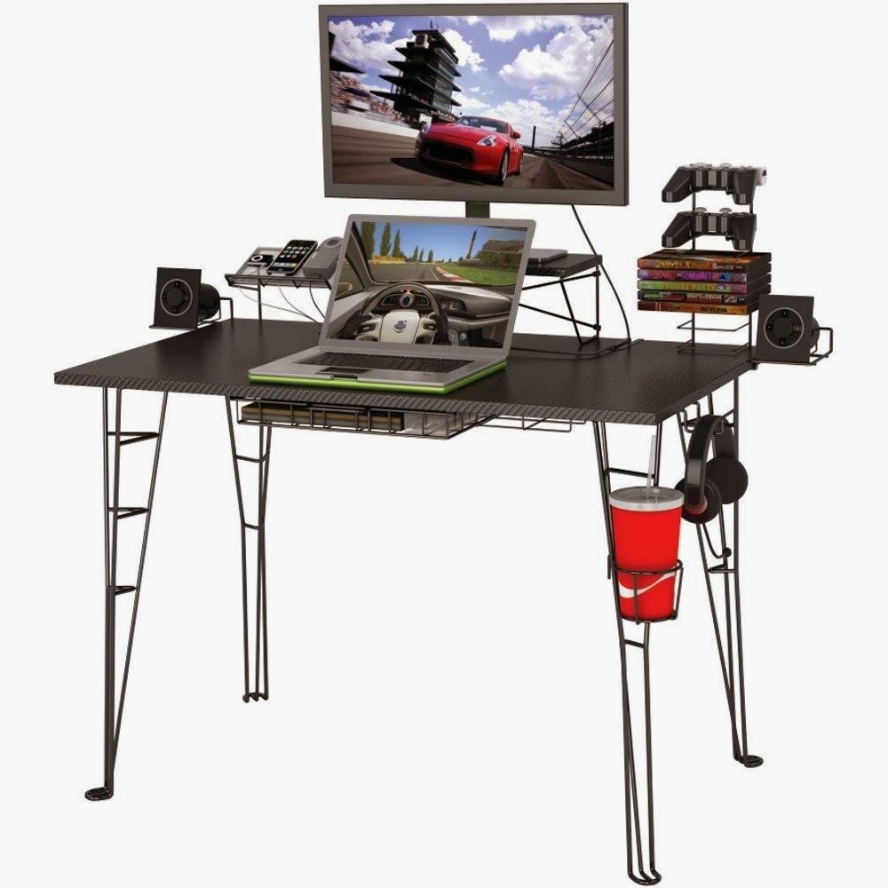 computer gaming desk. Black Bedroom Furniture Sets. Home Design Ideas