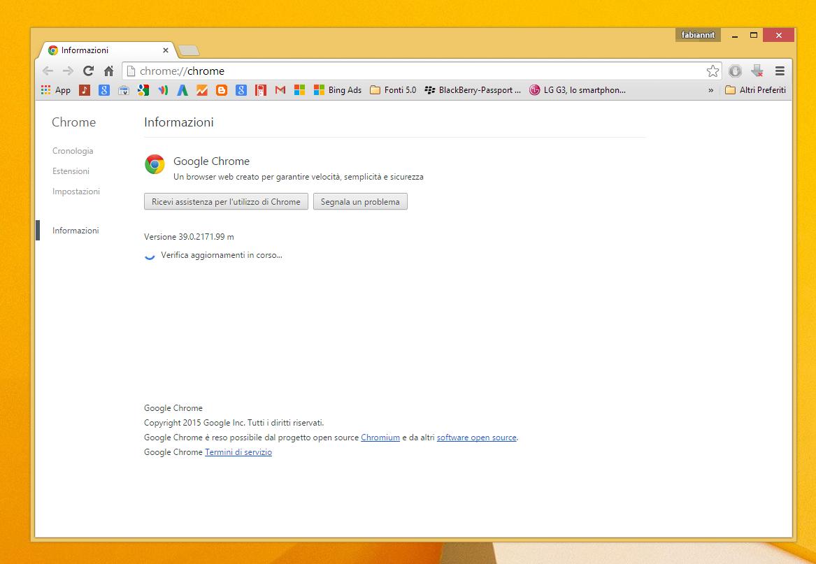 Come cambiare utente google chrome - Finestra in incognito ...