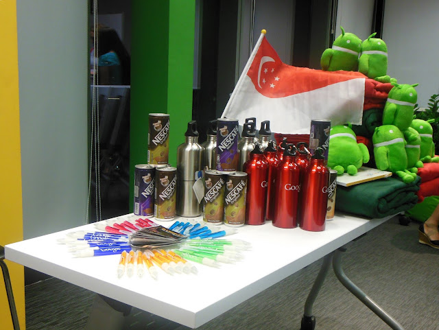 Goodies, Girls Geek Coffee, Singapore, First Meetup @ Asia One Square, Google office, GGC, GGCS