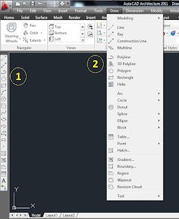 Menampilkan Toolbar Draw