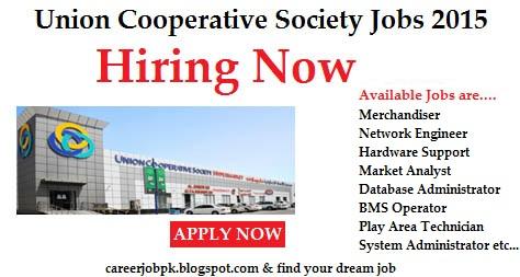 Latest Jobs in Union Coop Dubai