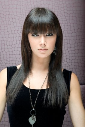 Long Black Hairstyle