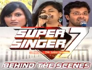 Super Singer 7 : Episode 42 - Behind The Scenes