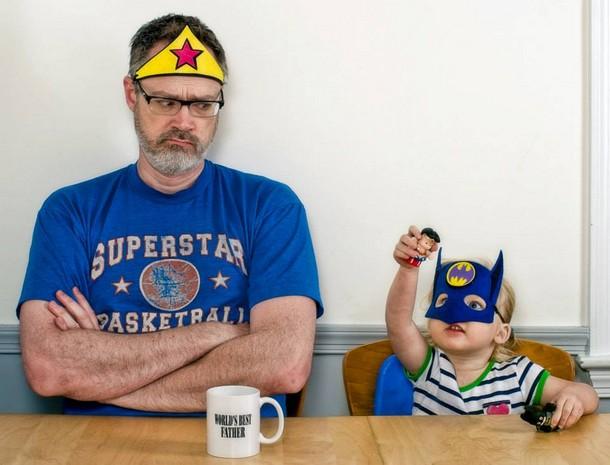 wonderman and batgirl