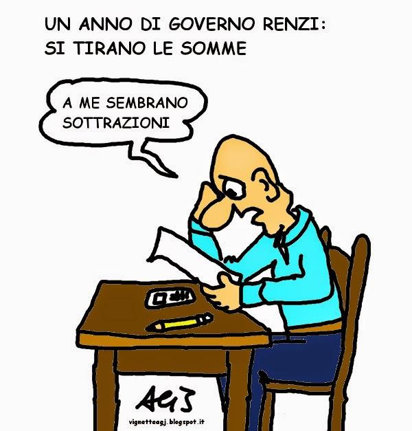 renzi, governo, tasse, satira , vignetta