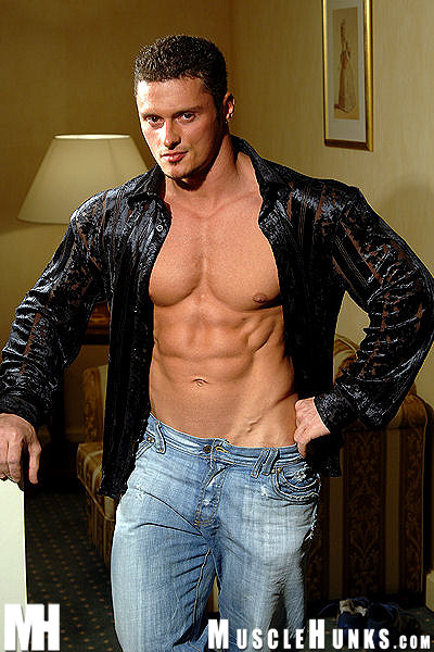 Fotos Gay Musculoso Gostoso Punhetando