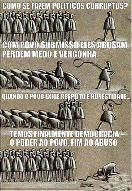 ditadura versus democracia poder povo