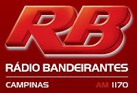 Rádio Bandeirantes AM da Cidade de Campinas ao vivo