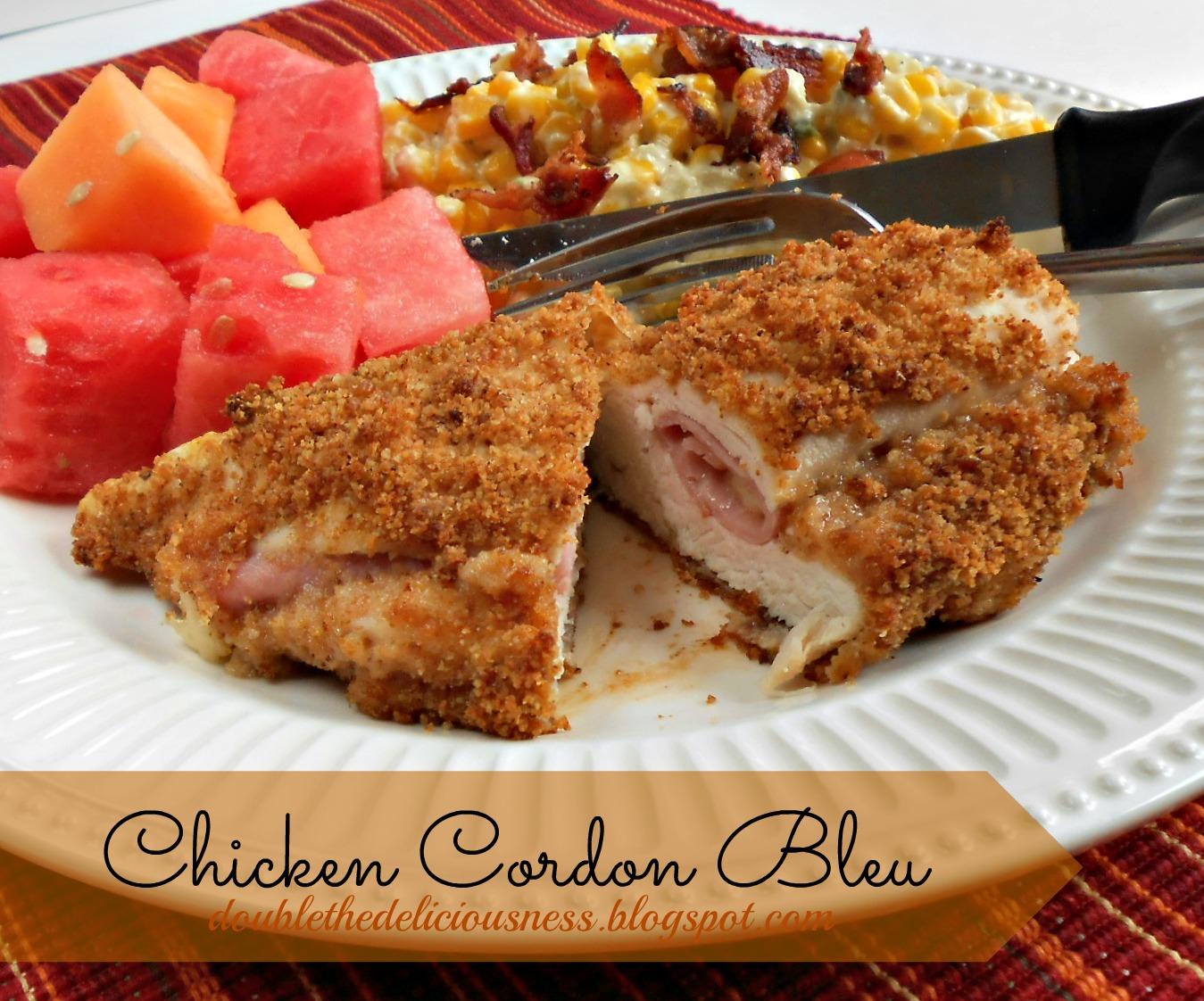 Double the Deliciousness: Chicken Cordon Bleu