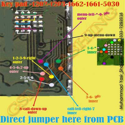 Jumper ic keypad 1202