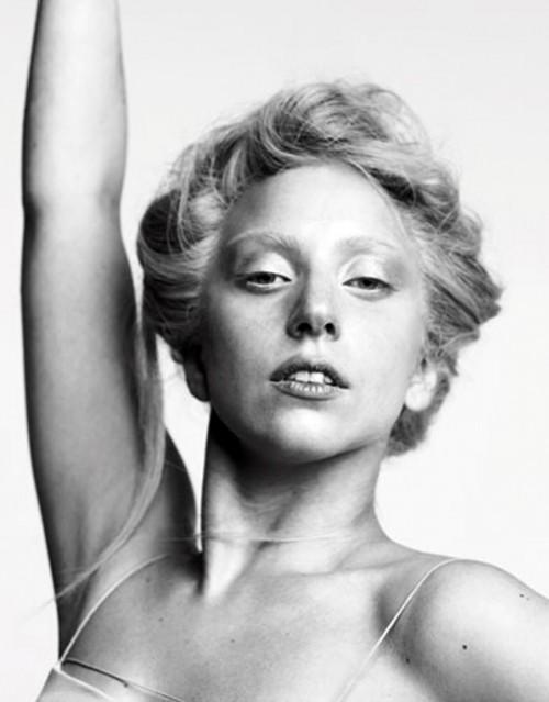 "Cherise Harper >> MakeUpNotDown: Lady Gaga Goes ""Bare"" for Bazaar"