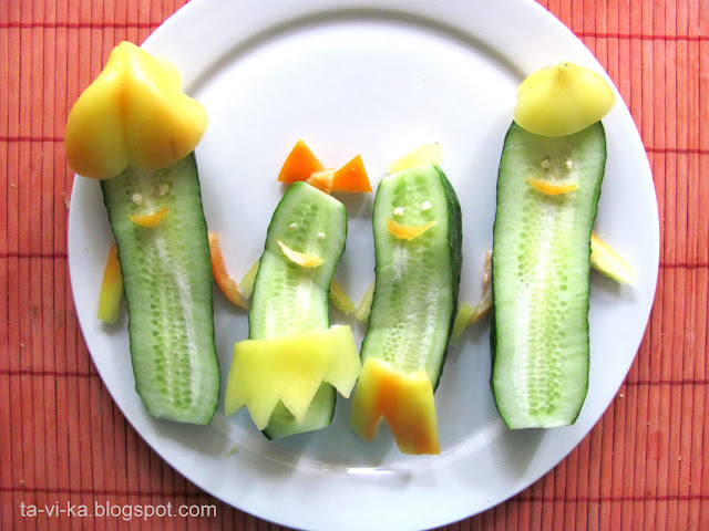 украшение еды food art