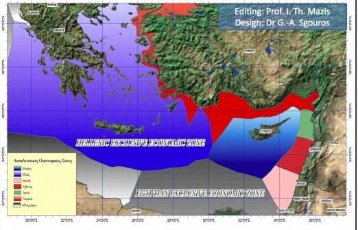 τα ενδεχόμενα ενεργειακά κοιτάσματα της Ελλάδας στο Αιγαίο φαντάζουν ως ιδανικές εμπράγματες εγγυήσεις για τους τοκογλύφους