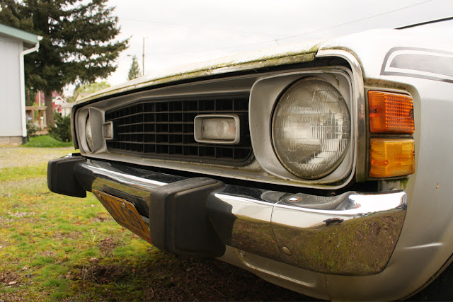 1974 Dodge Colt GT Mitsubishi Galant grill and headlights