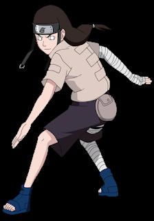 Imagen de Neji del Anime Naruto