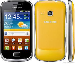 Harga dan Spesifikasi Samsung Galaxy mini 2 S6500