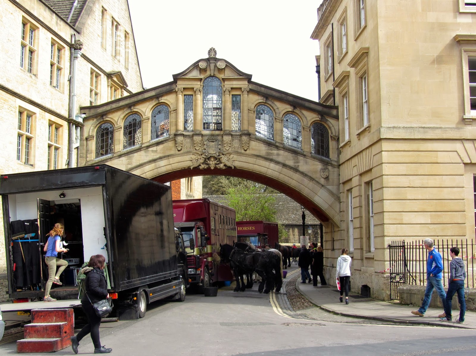 Curiouser And Curiouser Filming Testament Of Youth In Oxford