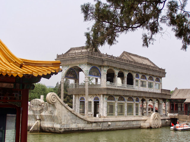 Marble Boat Lake Kunming