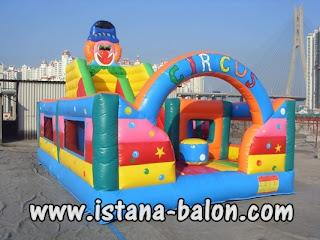 Istana Balon Circus 4x6