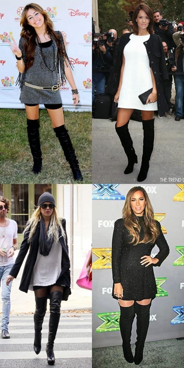 Botas de cano longo Miley Lindsay